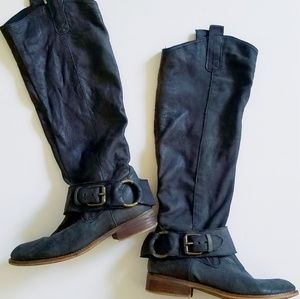 Steve Madden | Distressed Leather Boots
